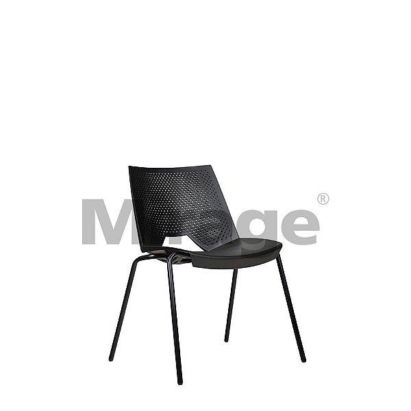 Cadeira Escritório Fixa LGC Preta