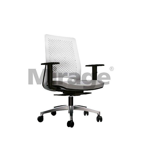 Cadeira Escritório Giratória Easy Diretor Alumínio