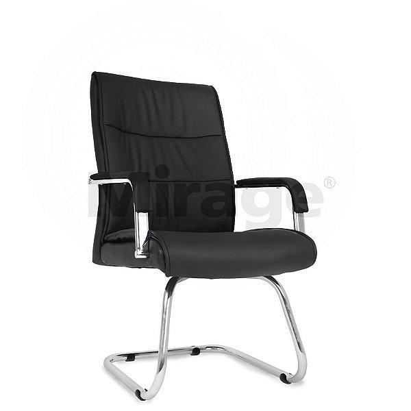 Cadeira Escritório Fixa Manager Diretor Preta