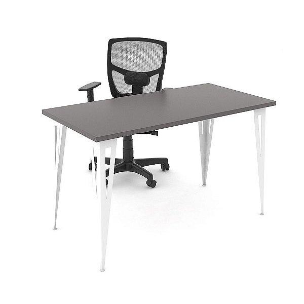 Mesa Mirage Prisma para Home Office Profundidade 80cm