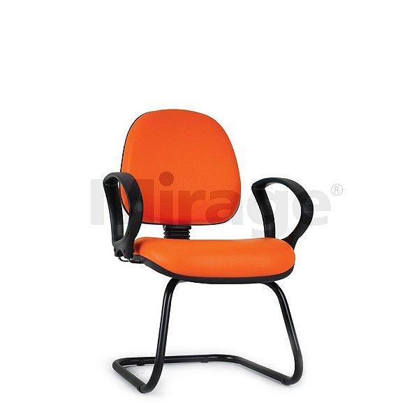 Cadeira Escritório Fixa Tech Pro Diretor Preta