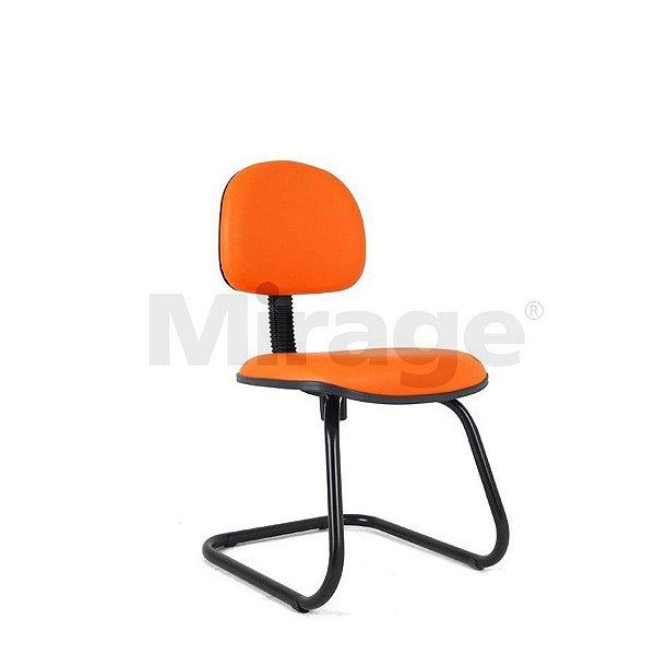 Cadeira Escritório Fixa Tech Pro Secretária Preta