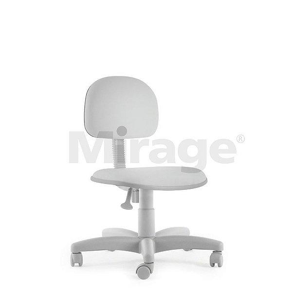 Cadeira Escritório Giratória Tech Pro Secretária Cinza