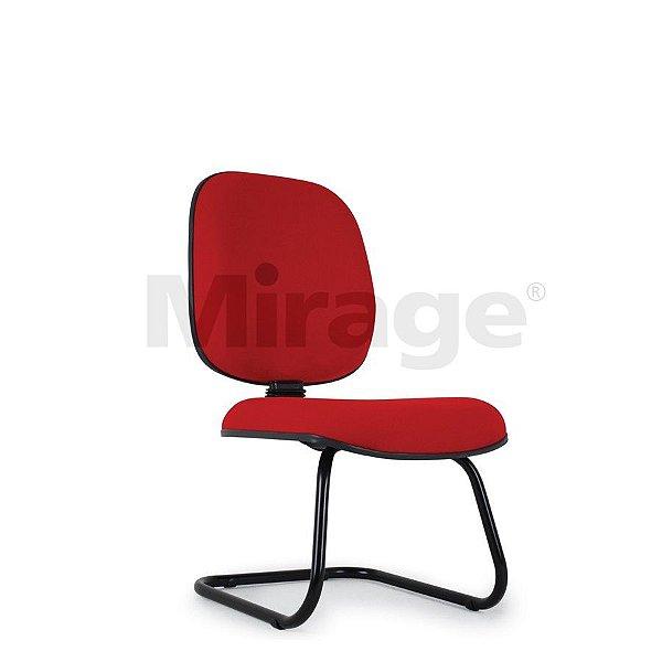 Cadeira Escritório Fixa Pop Diretor Preta