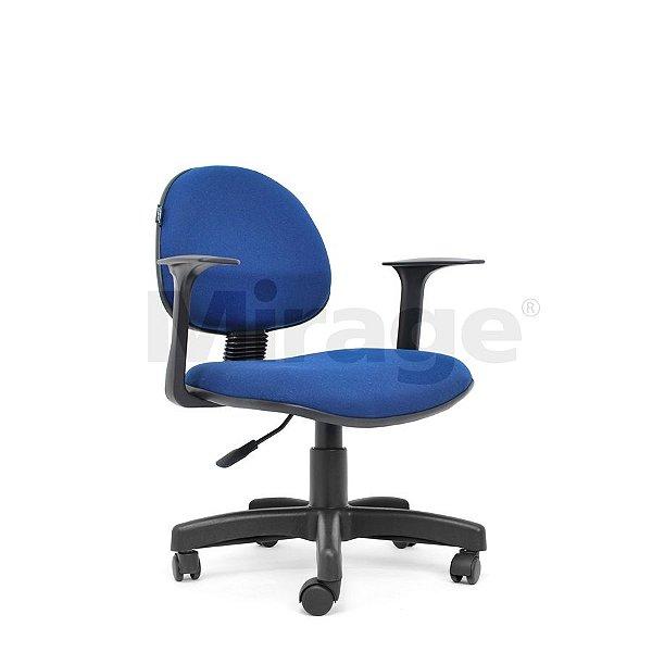 Cadeira Escritório Giratória Fox Secretária Preta