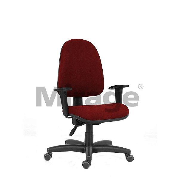 Cadeira Escritório Giratória Tech Pro Presidente Preta Certificada
