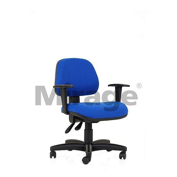Cadeira Escritório Giratória Tech Pro Secretária Preta Certificada