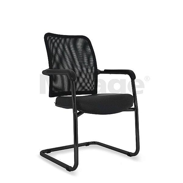 Cadeira Escritório Fixa Director Diretor Preta