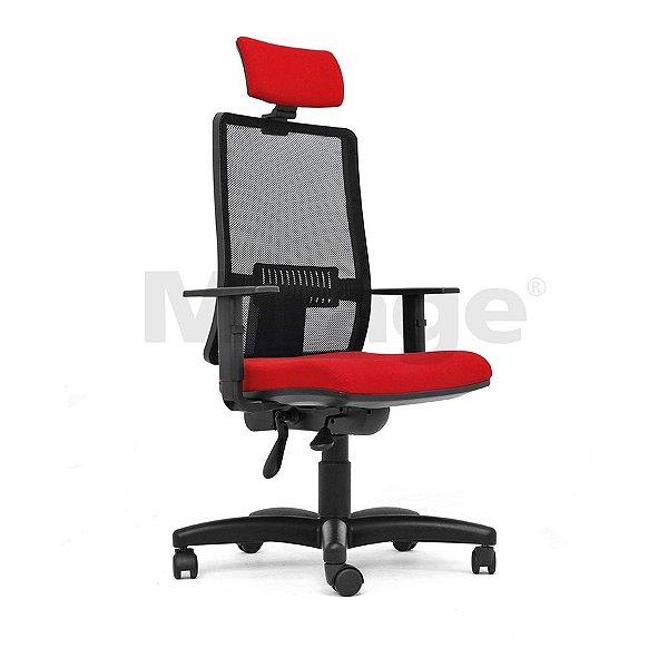 Cadeira Escritório Giratória Columbia Presidente Preta