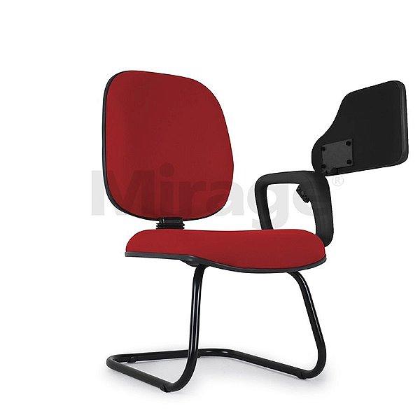 Cadeira Escritório Fixa Pop Diretor Escolar Preta