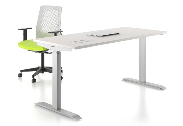 Mesa Home Office com Regulagem de Altura