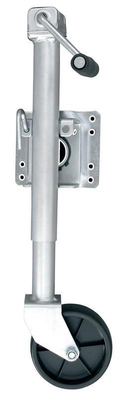 Roda Telescópica Pedestal para Carreta Reboque 450 kg