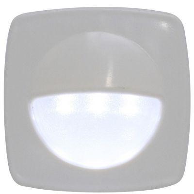 Luz de cortesia 3 leds abs branco Frio 12v