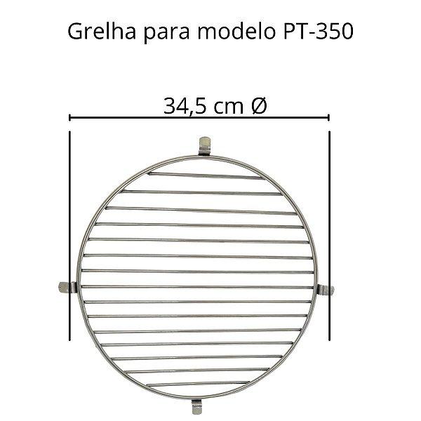 Grelha Grande Inox Para Churrasqueira pt-350