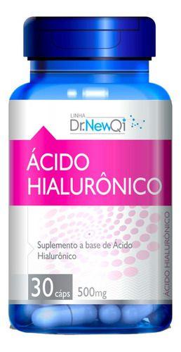 Ácido Hialurônico 30 Cápsulas 500mg - Dr New Qi