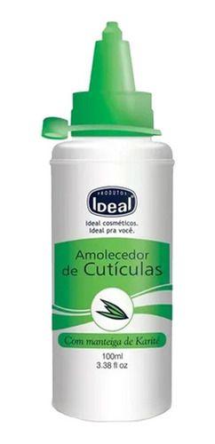Amolecedor De Cuticulas Manteiga Karite 100ml - Ideal