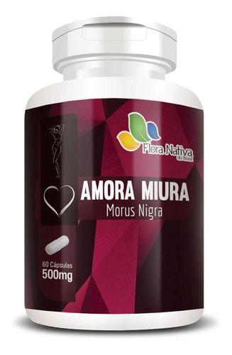 Amora Miura 500mg 60 Cápsulas Flora Nativa