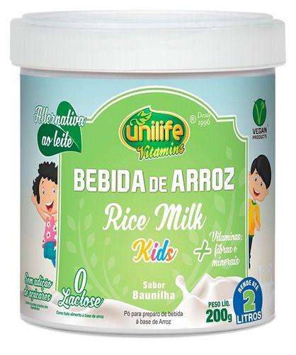 Leite Sem Lactose Bebida De Arroz 200g - Unilife