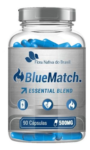 Termogênico Blue Match 90 Cápsulas 500mg - Flora Nativa