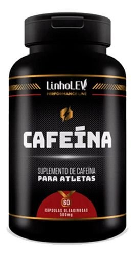Cafeína 60 Cápsulas 500mg - Linho Lev