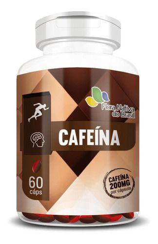 Cafeína 750mg 60 Cápsulas Oleosas - Flora Nativa