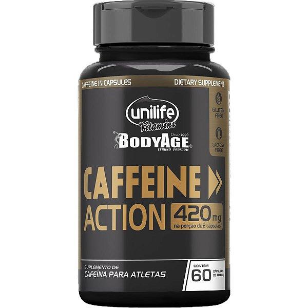 Caffeine Action 700MG 60 Cápsulas - Unilife