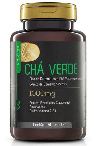 Chá Verde 1000mg 60 Cápsulas - Upnutri