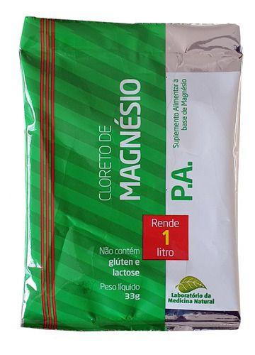 Cloreto De Magnésio P.a Sache De 33g - Medinal
