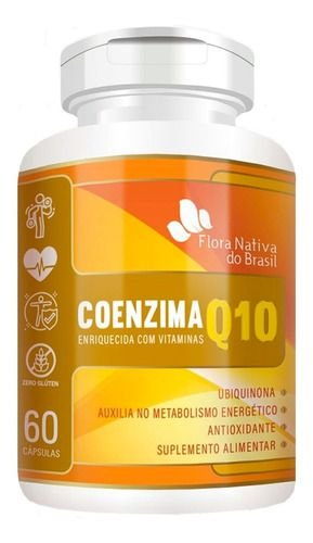 Coenzima Q10 60 Cápsulas 500mg - Flora Nativa
