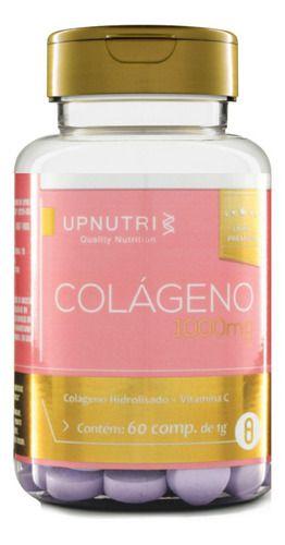 Colágeno Hidrolisado 1000mg 60 Comprimidos - Upnutri