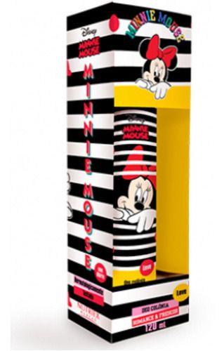 Colônia Infantil Minnie Mouse Love 120ml - Nutriex