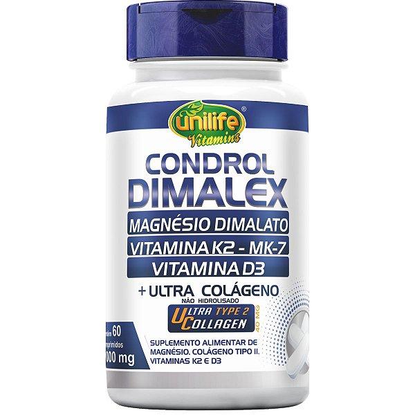 Condrol Dimalex Colageno Tipo 2 E Magnésio Dimalato 1000mg 6