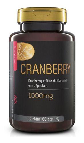 Cranberry 60 Cápsulas 1000mg - Upnutri