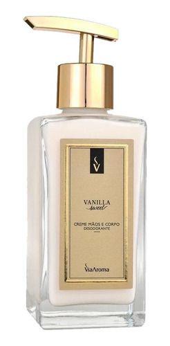 Creme Mãos E Corpo Vanilla 250ml - Via Aroma