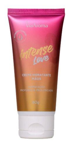 Creme Para Mãos Intense Love 60g - Via Aroma