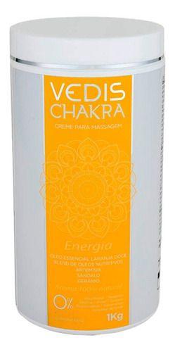 Creme Para Massagem Chakra Energia 1kg - Vedis
