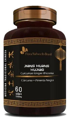 Curcuma E Pìmenta Negra 500mg 60 Cápsulas - Flora Nativa