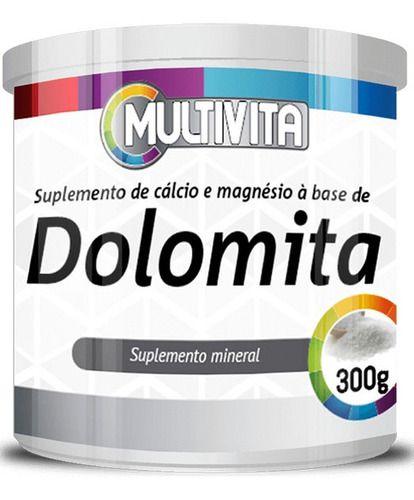 Dolomita Cálcio E Magnésio 300g - Flora Nativa