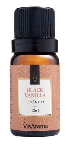 Essência Black Vanilla 10ml - Via Aroma