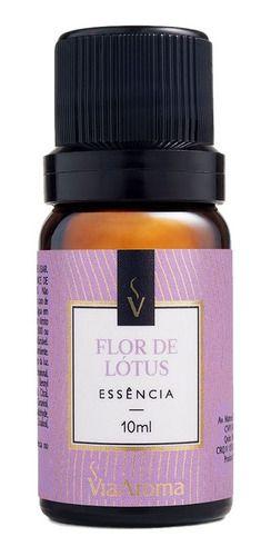 Essência Flor De Lotus 10ml - Via Aroma