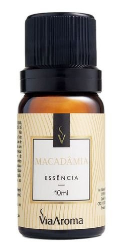 Essência Macadâmia 10ml - Via Aroma