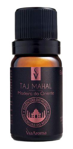 Essência Taj Mahal 10ml - Via Aroma