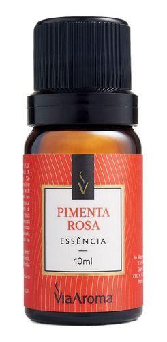 Essência Pimenta Rosa 10ml - Via Aroma