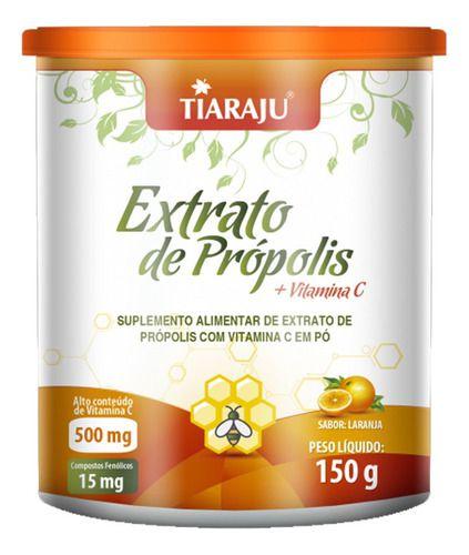 Extrato De Própolis E Vitamina C 150g - Tiaraju