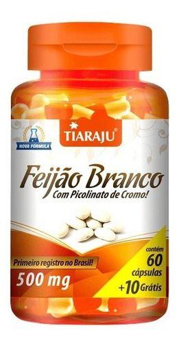 Feijão Branco + Picolinato De Cromo 500mg 70 Cáps - Tiaraju