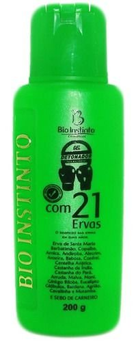 Gel Detonador 21 Ervas 200g - Bio Instinto