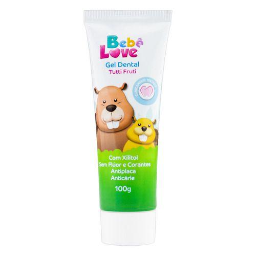 Gel Dental Bebê Love Tutti Fruti 100g - Nutriex