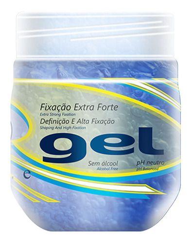 Gel Fixação 240g Extra Forte - Ideal