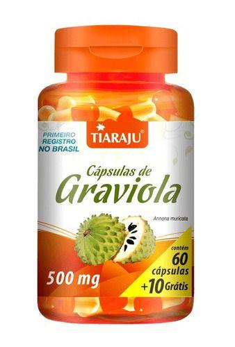 Graviola 500mg 70 Cápsulas - Tiaraju
