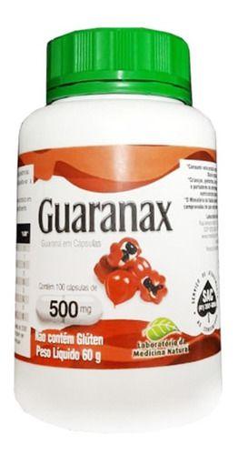 Guaranax 500mg 100 Cápsulas - Medinal